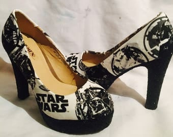 Star Wars shoes / heels* * * uk sizes 3-8 * * *