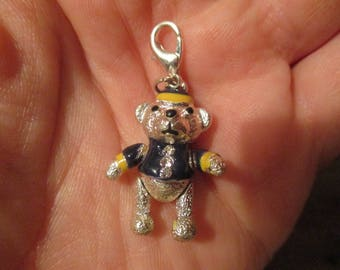 Charm Bracelet Charm - Teddy Bear
