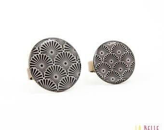 Japanese black resin ring