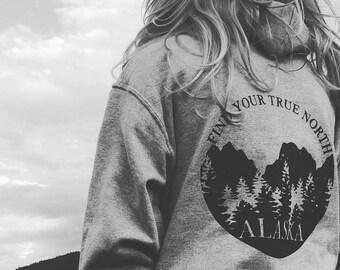 Find Your True North Hoody, Alaska