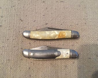 Pair of Vintage Imperial Pocket Knives