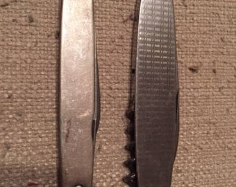 A Pair of Vintage German Stainless Steel Pocket Knives