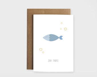 """Greeting card """"for baptism"""""""