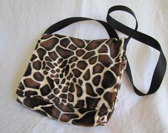 """Giraffe"" Messenger bag."