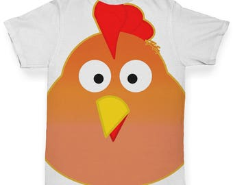 Spring Chicken Baby Toddler ALL-OVER PRINT Baby T-shirt