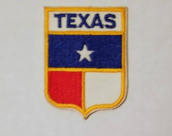 Texas - Vintage Patch for Jackets, Backpacks, Jeans/Clothing, Costumes, Crafts