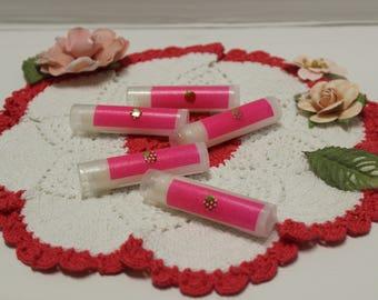 Subtle Strawberry Lip Balm, Strawberry Lip Balm, Lip Balm, Strawberry Flavor, Easter Gift, Birthday Gift, Small Gift, Lip Care, Lip Balm