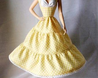 Handmade Silkstone Barbie Dress