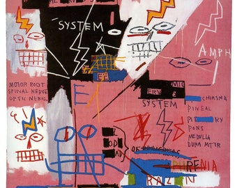 Jean-Michel Basquiat Six Fifty, 1982