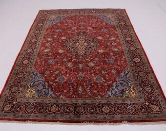 9X13 Great Shape Handmade Mahal Arak Persian Rug Oriental Area Carpet 8'7X12'7