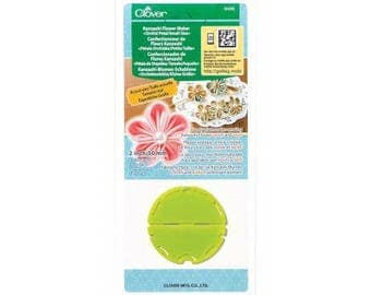 Flower maker Orchid petal CLOVER Kanzashi - small model
