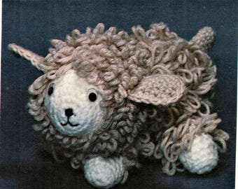 Lucky Lamb Soft Toy Crochet Pattern pdf
