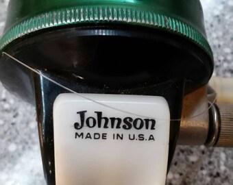 Vintage Johnson Sabra fishing reel.