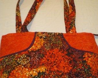 Burnt orange bag