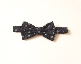 Gift for Valentine's day-CHARLES mens adjustable bowtie