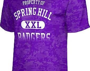 ProSphere Men's Spring Hill College Digital Tech Tee (SHC)