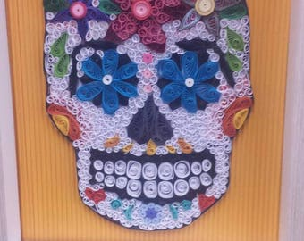 Candy skull day of the dead