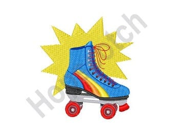 Roller Skate - Machine Embroidery Design