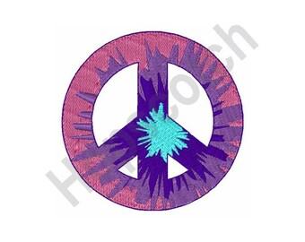 Peace Symbol - Machine Embroidery Design