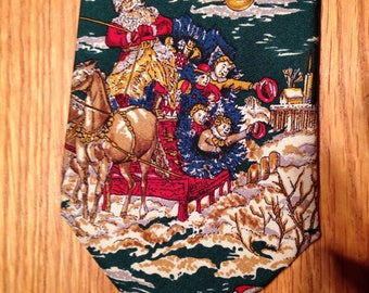 One of a Kind CHRISTMAS TIE from the Exclusive Greenbrier Hotel Shop