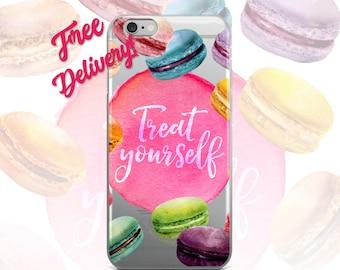 FREE SHIPPING Macaroon Phone Case iPhone 7/7+/6/6S/6+/6S+65/SE, Galaxy S8/8+/7/7Edge/6/6Edge/5/Note5/J7Prime, Huawei P8/P8Lite2016/P9/ P9Lit