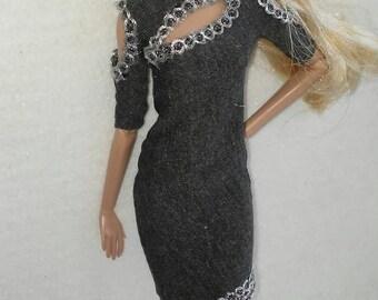 Barbie dress fits all 12 inch fashion dolls integrity, fashion royalty, Nuface, Fr,fr2