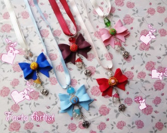 Sailor Senshi Ribbon necklace
