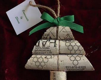 Simple Wine Cork Christmas Tree