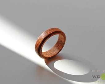 wooden ring headband ring faith unconventional wedding rings promise ring valentines - Unconventional Wedding Rings