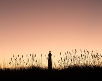 Cape Hatteras Lighthouse, North Carolina, Outer Banks, Beach Photography, National Seashore, Sunset Photography, Seaside, obx, sand dunes,