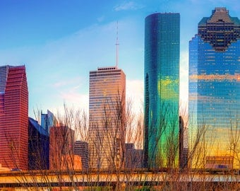 Houston Skyline, Houston Texas, Magnolia City, Houston Art, Photography, Urban, Cityscape Photography, Gregory Ballos Fine Art