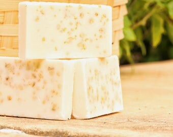 All Natural Honey and Oatmeal Soap