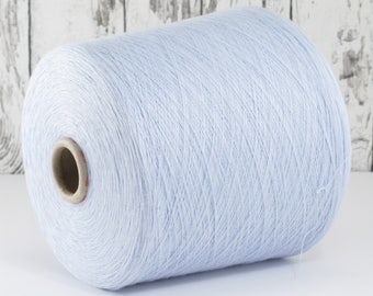 600g cotton yarn on cone, Italy/cotton yarn (Italy) on cone: Y001097