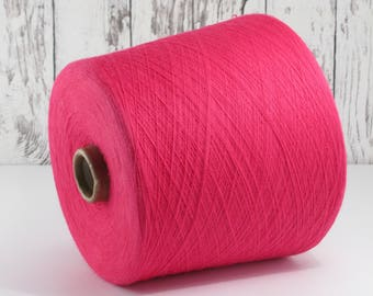 600g cotton yarn on cone, Italy/cotton yarn (Italy) on Cone, Asalia: Y001104