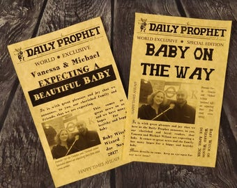 Daily Prophet Pregnancy Announcement, Set(s) of 10