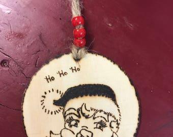Tree ornament- Santa