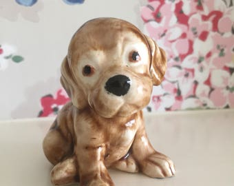 Vintage cute dog ornament