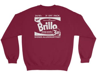 Andy Warhol 'Brillo Box' Sweatshirt