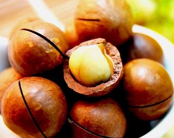 Organic Macadamia Nut Oil Cold Pressed Unrefined Undiluted
