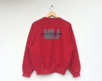 Vintage MICHIKO LONDON Embroidery Sweatshirt