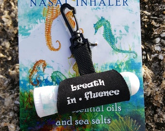 Essential Oils and Sea Salts Nasal Inhaler -- Clear Passages