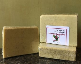 Hawaiian Sandalwood Glycerin Soap