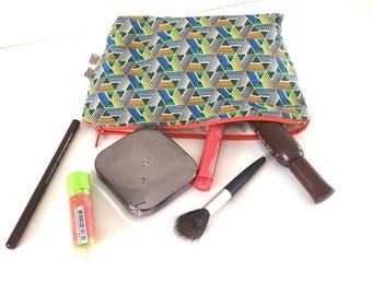 Fabric makeup African wax
