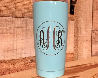 Powder Coated Ozark Trail 20 oz. Tumbler - Customized Stainless Steel Tumbler - Laser Engraved Tumbler - Custom Gifts