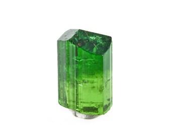 7.28ct Bright Green Tourmaline from Commander Mine, Nadonjukin, Tanzania 02