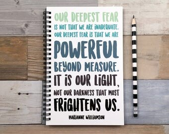 "our deepest fear analysis essay Marianne williamson's piece on ""our deepest fear"" is motivational it motivates you to speak out and be yourself don't be afraid to show the real you."
