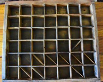 1 old wooden crude wooden locker