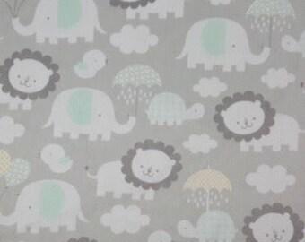 Personalized elephant minky blanket, lion minky blanket, Baby Gift, Nursery Blanket, Toddler Bedding, Nursery Blanket, Crib Bedding