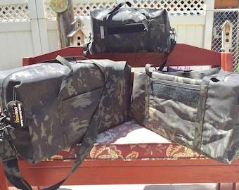 Multicam Black Duffle Bag Size XL Gym Bag
