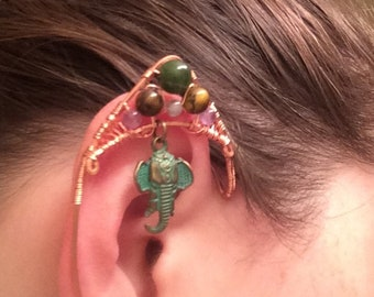 Elf Ear Cuffs (copper wire)